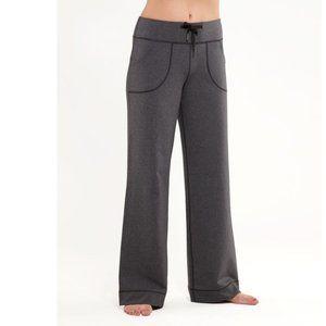 Lululemon Heathered Deep Coal STILL Yoga Pants